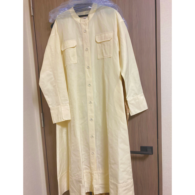 STUNNING LURE(スタニングルアー)のMACHATT メモリーグログランシャツコート レディースのジャケット/アウター(ロングコート)の商品写真