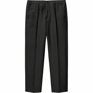 Supreme - 黒 34 Supreme Pleated Trouser Pant 21SS