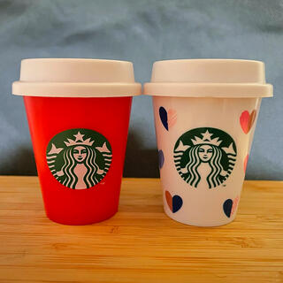 Starbucks Coffee - スタバ ミニカップ バレンタイン&ホリデーセット
