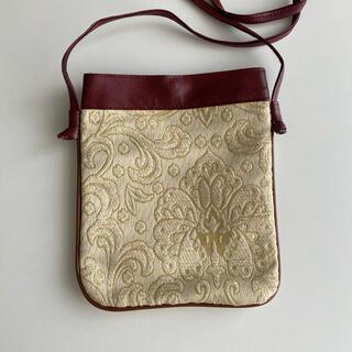 刺繍 ポシェット(ショルダーバッグ)
