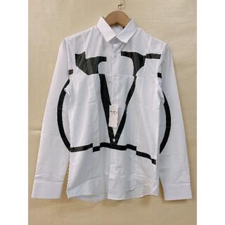 VALENTINO - ヴァレンティノValentino シャツ ワイシャツ L ホワイト