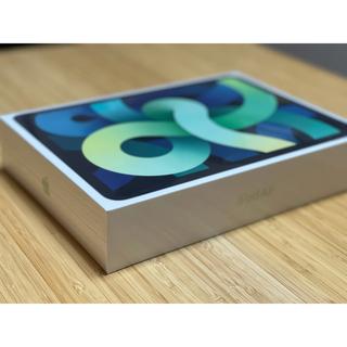 iPad - シュリンク破れ iPad AIR グリーン 256GB