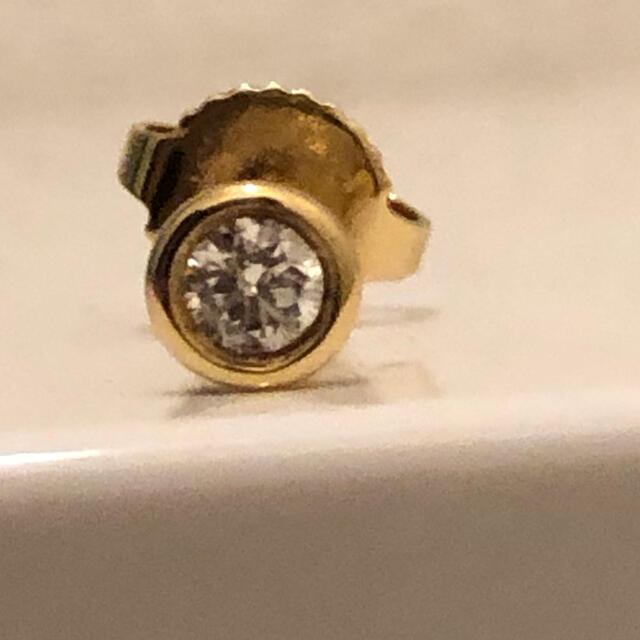 Tiffany & Co.(ティファニー)の0.1ctティファニー バイザヤード ピアス 750YG レディースのアクセサリー(ピアス)の商品写真
