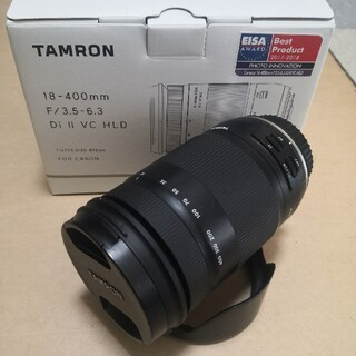 TAMRON - TAMRON 18-400mm F/3.5-6.3 EFマウント