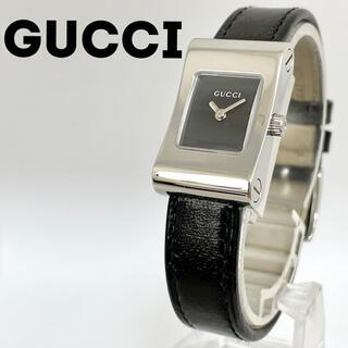 Gucci - グッチ時計 レディース腕時計 箱付き ブラック ブラック