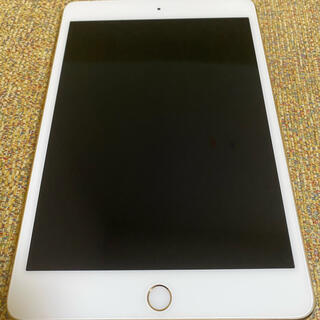 iPad - iPad mini4 gold 64GB SIMフリー ケース付き