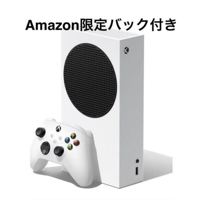 Xbox(エックスボックス)の【新品】Xbox Series S Amazon特典付き エンタメ/ホビーのゲームソフト/ゲーム機本体(家庭用ゲーム機本体)の商品写真