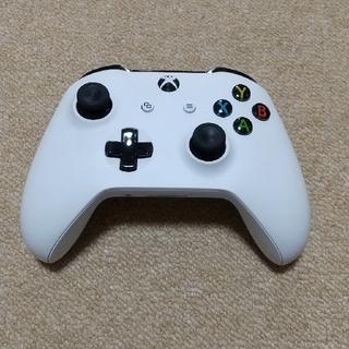 エックスボックス(Xbox)の【中古品】Xbox ワイヤレス コントローラー (ホワイト)(その他)