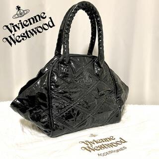 Vivienne Westwood - 正規品 レア Vivienne Westwood キルティング トートバッグ