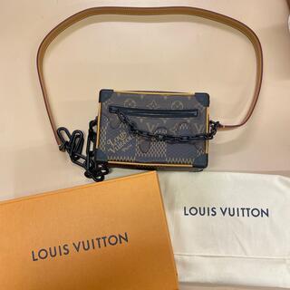 LOUIS VUITTON - 4月までの値下げ!LV VUITTON×NIGOコラボ トランクバッグ