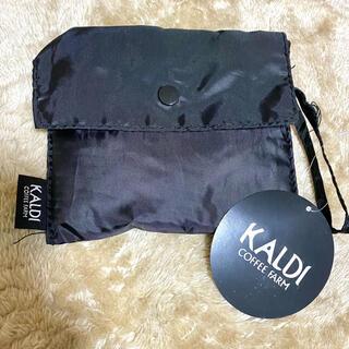 カルディ(KALDI)のカルディ エコバッグ ブラック(エコバッグ)