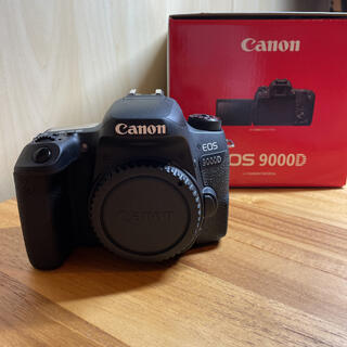 Canon - 新品同様 EOS9000D