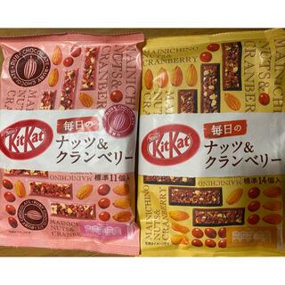 ネスレ(Nestle)のキットカット ナッツ&クランベリー 2種 2袋セット(菓子/デザート)
