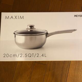 マイヤー(MEYER)のMEYER 蓋付きディープパン20センチ(鍋/フライパン)