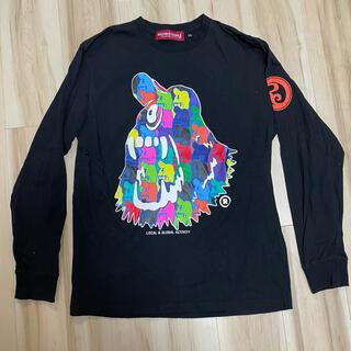 ローリングクレイドル(ROLLING CRADLE)のROLLING CLADLE ロリクレ ロンT ブラック XL(Tシャツ/カットソー(七分/長袖))