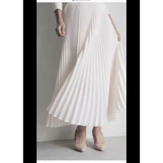 Drawer - 新品 cen. プリーツスカート オフホワイト マイクローゼット