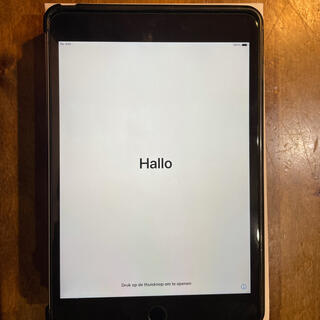 Apple - iPad mini4 cellular 64GB space Gray