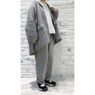 SM2 - サマンサモスモス リネンコットンオーバーサイズジャケット、パンツセットアップ