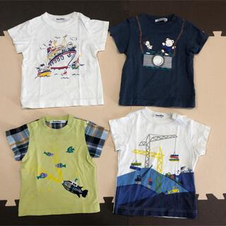 familiar - 【m。様 確認用】ファミリア Tシャツ 80.90サイズ