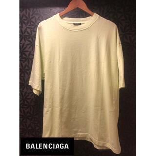 Balenciaga - BALENCIAGA イエロー Tシャツ ビッグシルエット