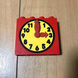 Lego - レゴデュプロ   時計 パーツ
