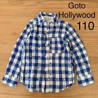 ゴートゥーハリウッド(GO TO HOLLYWOOD)のGotoHollywood チェックシャツ(ブラウス)