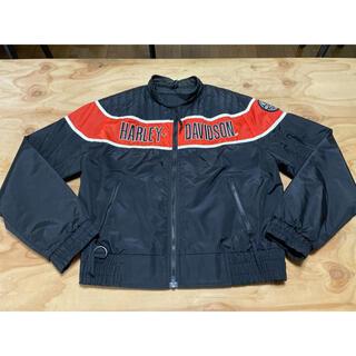 ハーレーダビッドソン(Harley Davidson)の★ハーレーダビッドソン ナイロンジャケット 黒/L(XXL相当)(装備/装具)