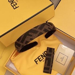 FENDI - 箱付き二点セット フェンデイFENDI カチューシャ/ヘアピン