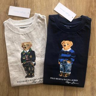 ラルフローレン(Ralph Lauren)のラルフローレン ベビー ポロベア  Tシャツ 85 2枚組(Tシャツ)