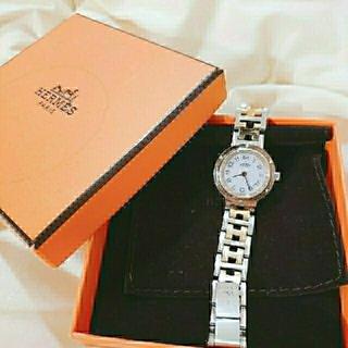 Hermes - エルメス クリッパー 時計 レディース アンティーク