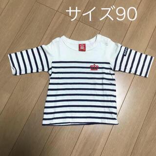 ベビードール(BABYDOLL)のサイズ90 七分丈 Tシャツ(Tシャツ/カットソー)