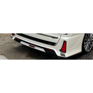 トヨタ - TRD 80ノア、ヴォクシー(Si ZS)用リアスポイラーLEDリフレクター付き