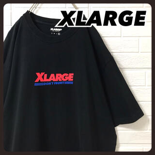 XLARGE - エクストララージ Tシャツ ブラック コストコ 風 ロゴデザイン