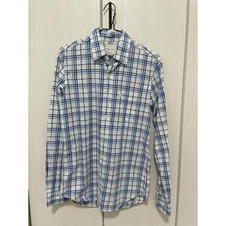 アメリカンイーグル(American Eagle)のアメリカンイーグル チェックシャツ ブルー ホワイト(シャツ)