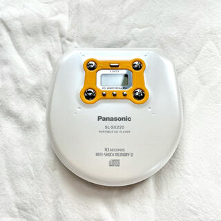 Panasonic - 【未使用】Panasonic ポータブルCDプレーヤー SL-SX220