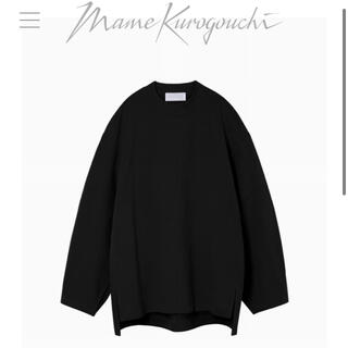 mame - 新品mame Oversized Cotton Long Sleeve Top