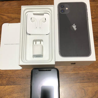 Apple - iPhone11 SIMフリー 超美品 128GB ブラック