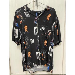 エイチアンドエム(H&M)の完売品 H&M  ボブマーリー オーバーサイズ アロハシャツ 柄シャツ(シャツ)
