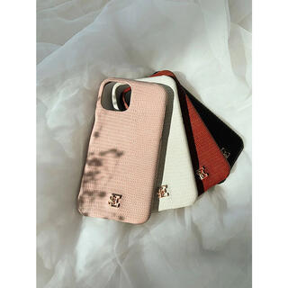 エイミーイストワール(eimy istoire)のeimy istoire ESモチーフiPhoneケース 11PRO ピンク(iPhoneケース)