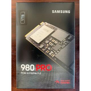 SAMSUNG - 【新品】サムソン M.2 SSD 980 PRO 1TB 読込速度:7000MB