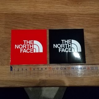 THE NORTH FACE - THE NORTH FACE ステッカー 2枚セット!