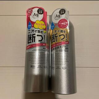 エージーデオ24 パウダースプレー 無香性 2本セット(制汗/デオドラント剤)