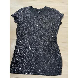 ダナキャランニューヨーク(DKNY)のダナキャランニューヨーク スパンコールTシャツ(Tシャツ(半袖/袖なし))