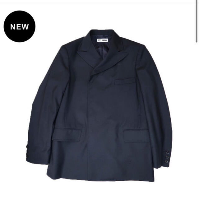 ALLEGE(アレッジ)のTTT MSW 21SS Double tailored jacket blue メンズのジャケット/アウター(テーラードジャケット)の商品写真