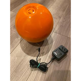 ヤマゼン(山善)のYAMAZEN 山善 超音波加湿器 KZ-J15 (D) オレンジ 丸型 加湿器(加湿器/除湿機)