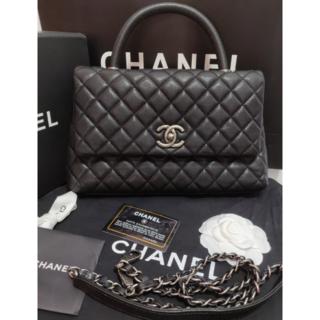 シャネル(CHANEL)の美品 CHANEL シャネル マトラッセ ココハンドル(ハンドバッグ)