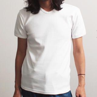 AVIREX - 新品アヴィレックスX LサイズVネック定番半袖ティーシャツ!