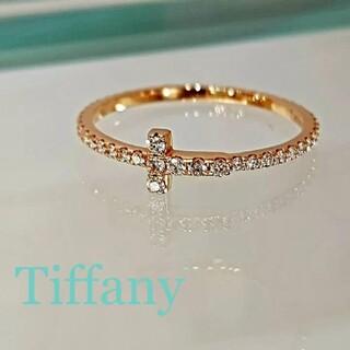 Tiffany & Co. - ティファニー Tiffany Tワイヤー ローズゴールド ダイヤ
