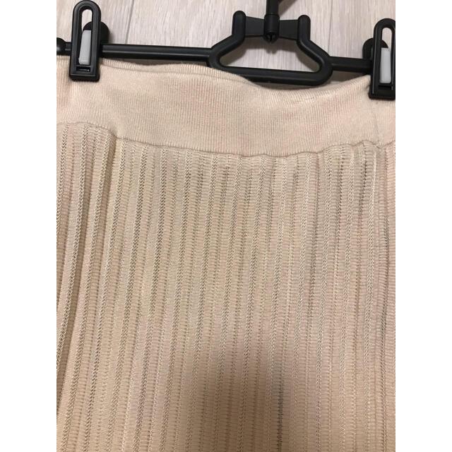 eimy istoire(エイミーイストワール)のeimy♡シアーコンビプリーツニットスカート レディースのスカート(ロングスカート)の商品写真