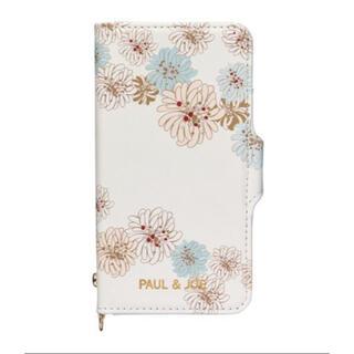 PAUL & JOE -  【iPhoneXS X対応】手帳型スマホケース ポール&ジョー クリザンテーム